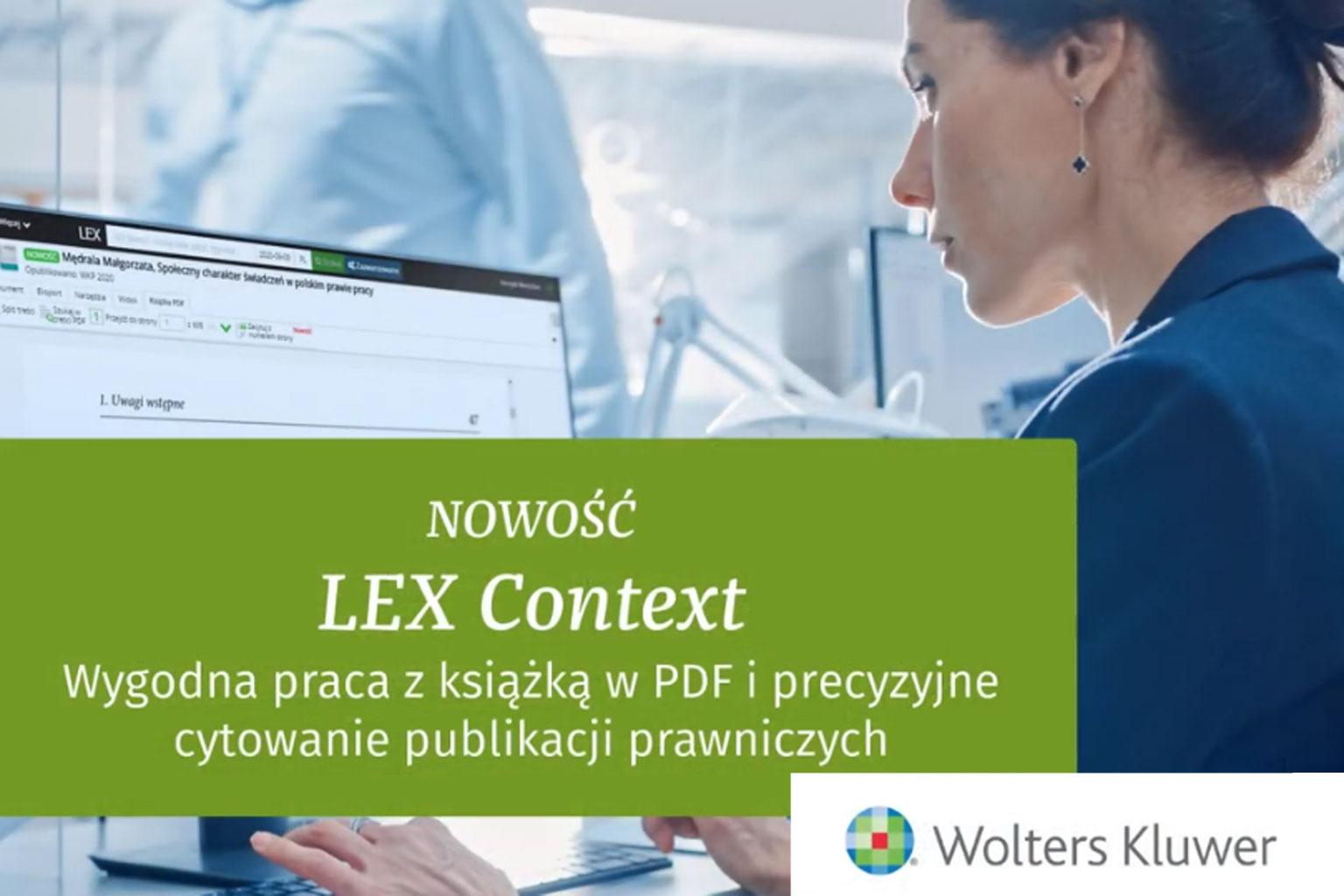 Instrukcja cytowania i pracy z książką w PDF w LEX Context