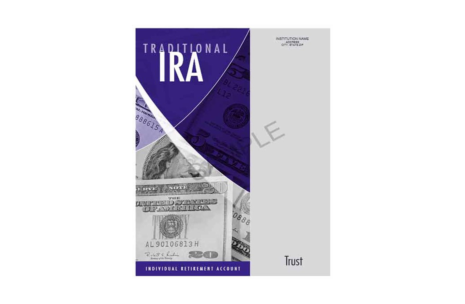 Traditional IRA Organizer - Trust sample