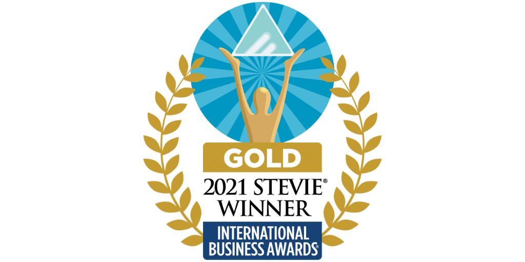 2021 Stevie Gold Winner