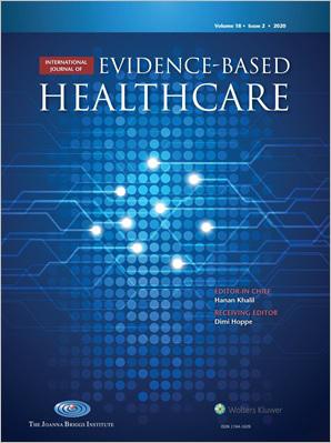 International Journal of Evidence-Based Healthcare
