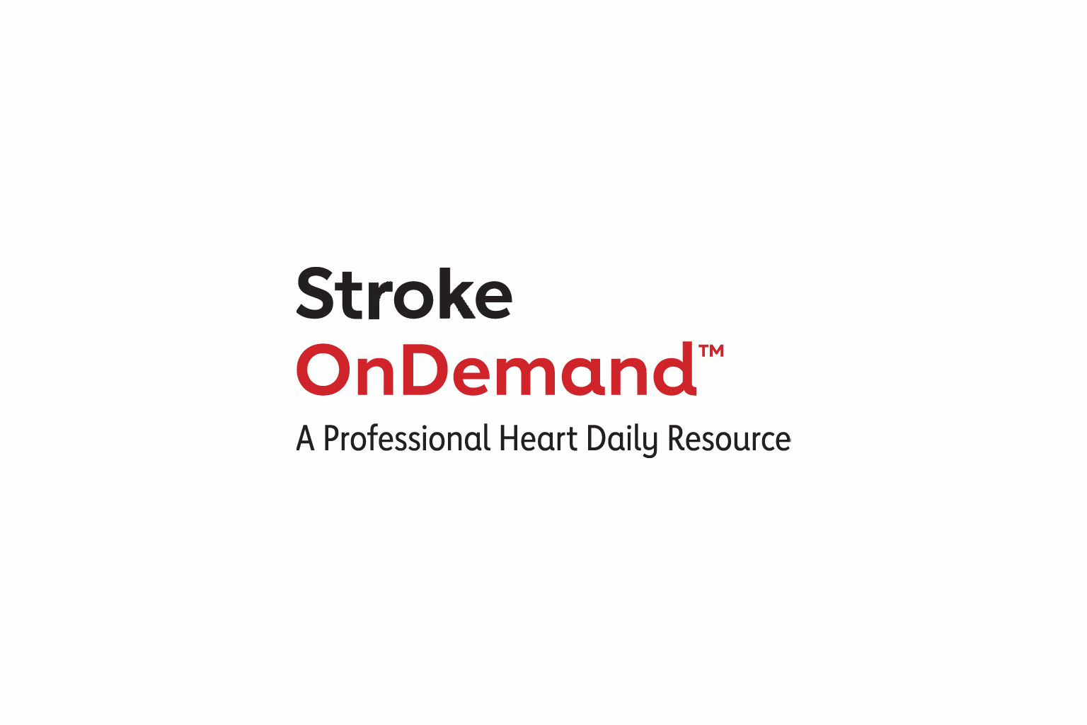 AHA Stroke OnDemand logo