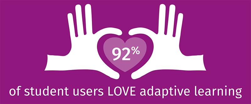 92-percent-love-adaptive-learning