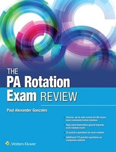 The PA Rotation Exam Review book cover