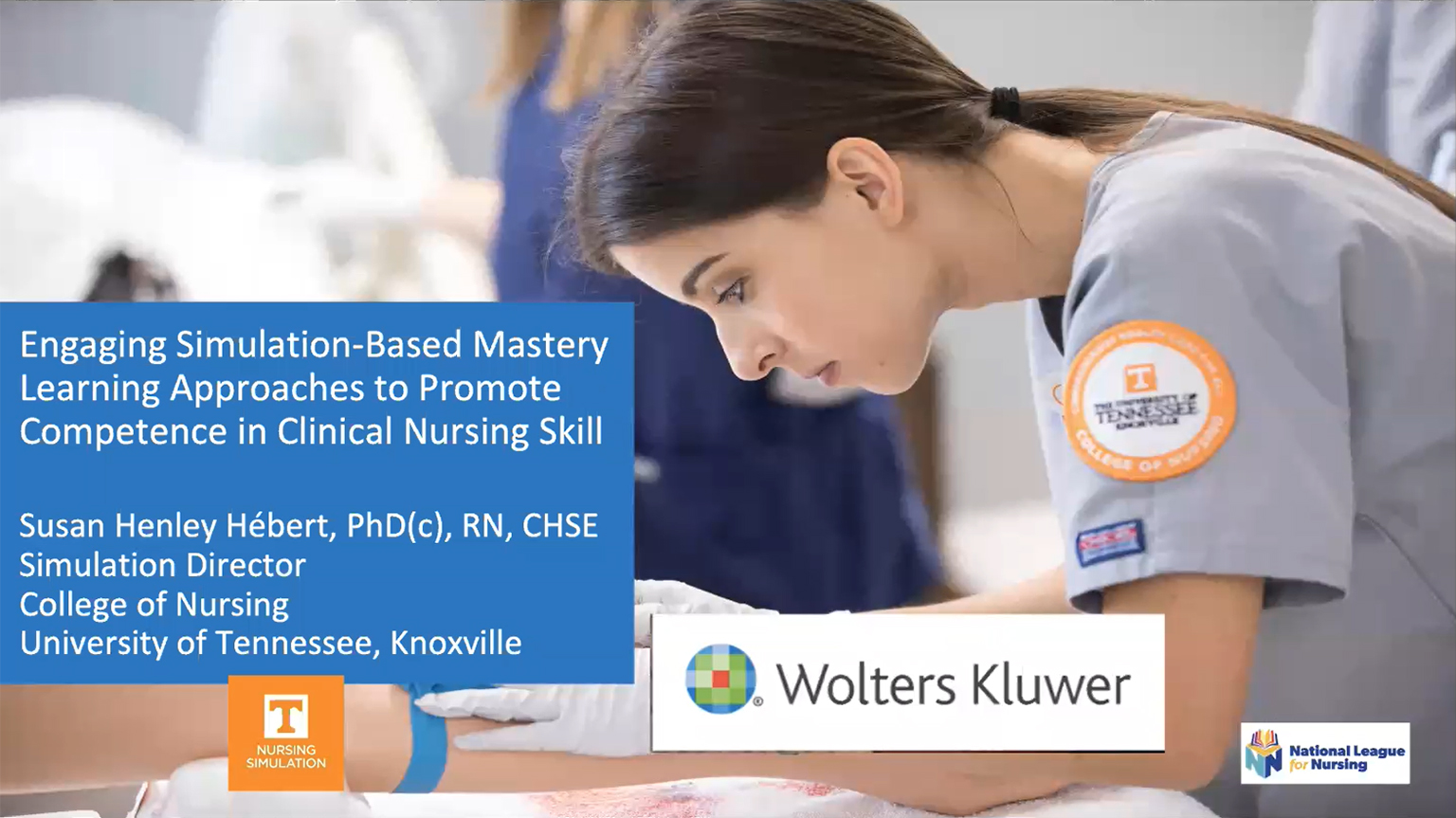 Screenshot of Engaging simulation-based mastery learning approaches to promote competence in clinical nursing skills video